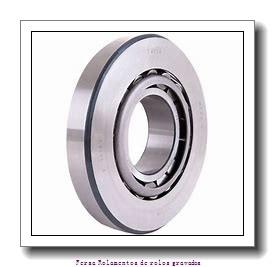 31.75 mm x 66,421 mm x 25,357 mm  FBJ 2580/2520 Rolamentos de rolos gravados