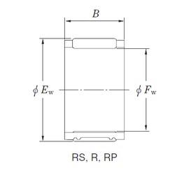 KOYO RS485313 Rolamentos de agulha