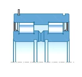 40,000 mm x 95,000 mm x 39,000 mm  NTN SLX40X95X40 Rolamentos cilíndricos
