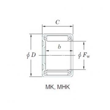 KOYO MK1671 Rolamentos de agulha