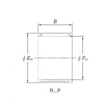 KOYO R16/18,8AP-2 Rolamentos de agulha