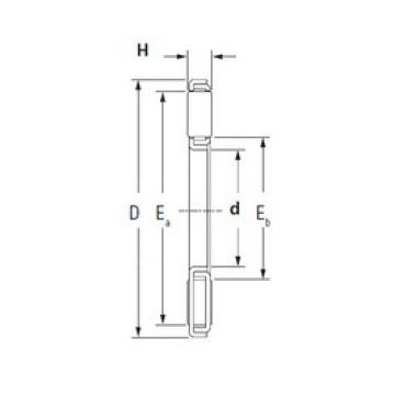 KOYO TP100135 Rolamentos de agulha