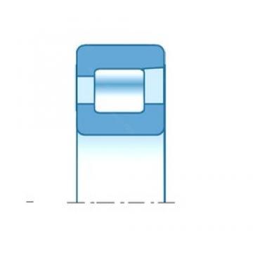 17,000 mm x 40,000 mm x 12,000 mm  NTN NF203 Rolamentos cilíndricos