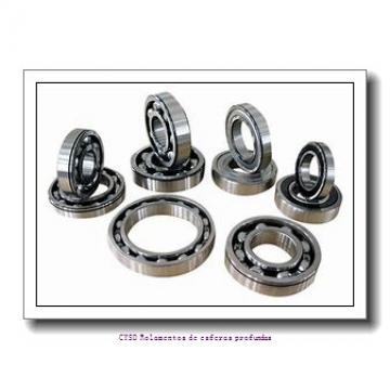 4 mm x 8 mm x 2 mm  ZEN MR84 Rolamentos de esferas profundas