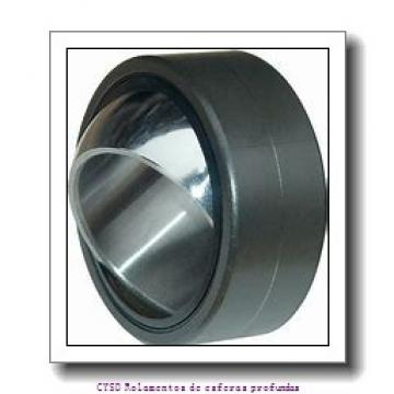 20 mm x 47 mm x 18 mm  ISO 2204-2RS Rolamentos de esferas auto-alinhados