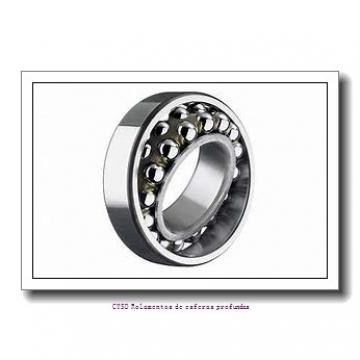 45 mm x 100 mm x 36 mm  ISO 2309 Rolamentos de esferas auto-alinhados