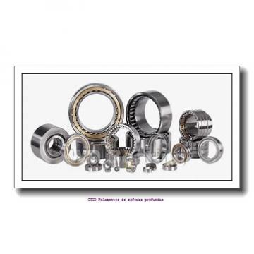 44,45 mm x 95,25 mm x 29,37 mm  FBJ HM804842/HM804810 Rolamentos de rolos gravados
