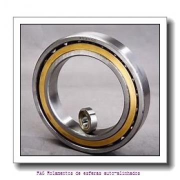 30 mm x 72 mm x 19 mm  ISO 1306K Rolamentos de esferas auto-alinhados