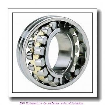 17 mm x 47 mm x 19 mm  ISO 2303-2RS Rolamentos de esferas auto-alinhados