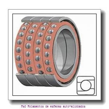 75 mm x 130 mm x 31 mm  ISO 2215K Rolamentos de esferas auto-alinhados