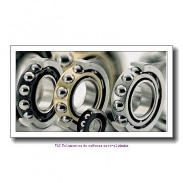 105 mm x 225 mm x 49 mm  ISO 1321 Rolamentos de esferas auto-alinhados