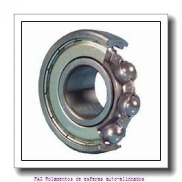 55 mm x 100 mm x 25 mm  ISO 2211 Rolamentos de esferas auto-alinhados