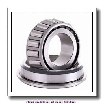 63,5 mm x 122,238 mm x 43,764 mm  FBJ 5584/5535 Rolamentos de rolos gravados