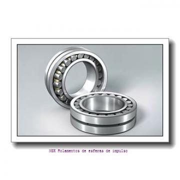 60 mm x 110 mm x 22 mm  NKE 7212-BE-TVP Rolamentos de esferas de contacto angular