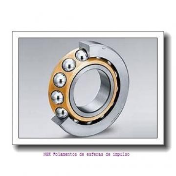 240 mm x 440 mm x 72 mm  NKE 7248-B-MP Rolamentos de esferas de contacto angular