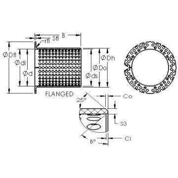 AST ASTT90 F15080 Rolamentos simples
