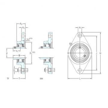 SKF FYT 1.3/16 RM Unidades de rolamento