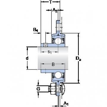 SKF PF 45 RM Unidades de rolamento