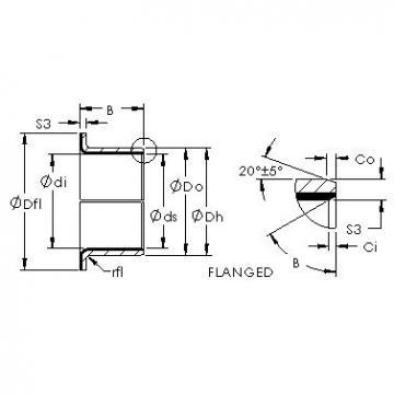 AST AST40 F15170 Rolamentos simples