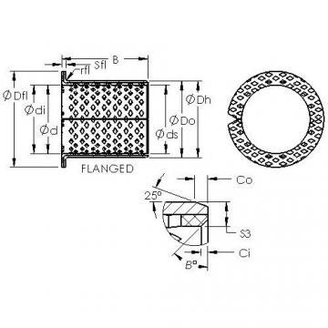 AST ASTB90 F6050 Rolamentos simples