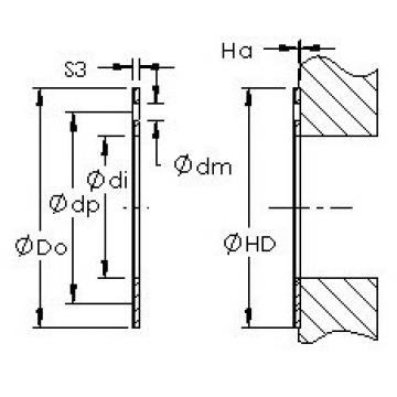 AST AST20 WC22 Rolamentos simples