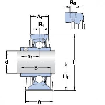 SKF SYJ 2.1/2 TF Unidades de rolamento