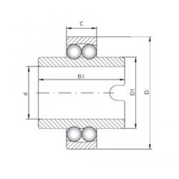 ISO 11211 Rolamentos de esferas auto-alinhados