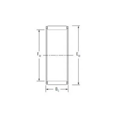 KOYO WJ-404616 Rolamentos de agulha