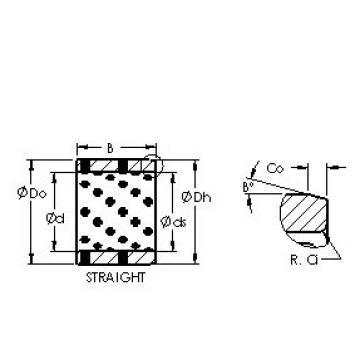AST AST650 142025 Rolamentos simples