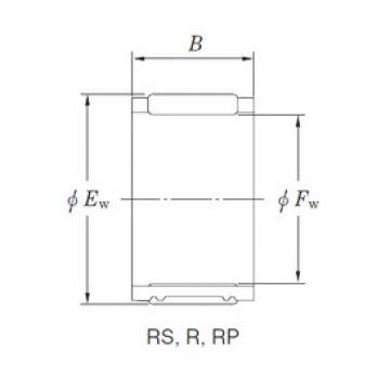 KOYO R45/19 Rolamentos de agulha