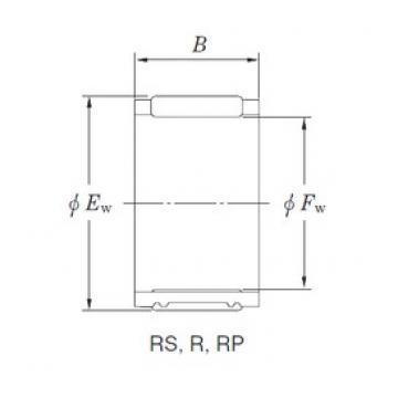 KOYO RF182622A-1 Rolamentos de agulha