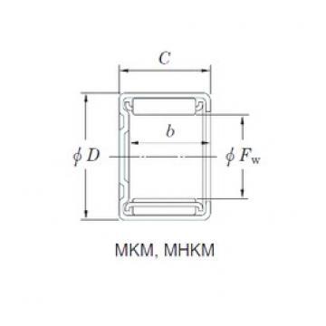 KOYO MKM2516 Rolamentos de agulha