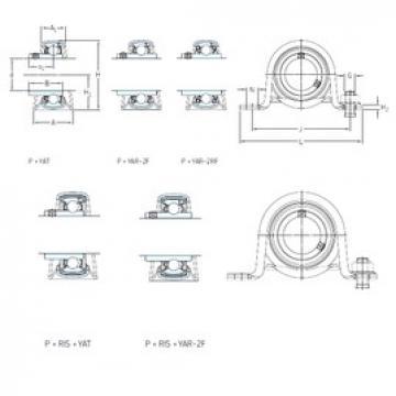 SKF P 40 RM Unidades de rolamento