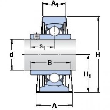 SKF SY 2.15/16 TF/VA201 Unidades de rolamento