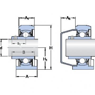 SKF SYFWK 1.3/16 LTA Unidades de rolamento