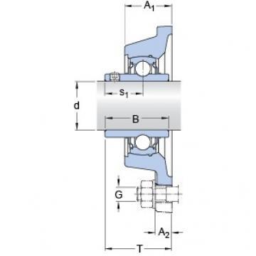 SKF FY 1.1/4 TF/VA228 Unidades de rolamento